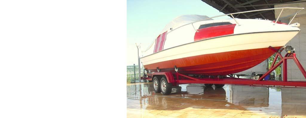 8 Metrelik Tekne Taşıma Remorku